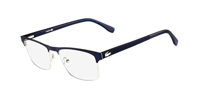 268ef054493 New Lacoste Men s Eyeglasses L2198 424 5518 55 MM Glasses at Amazon ...