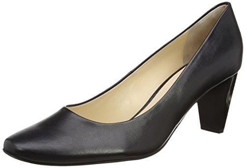 Högl 0- 12 450 - zapatos de tacón cerrados de cuero mujer negro - Schwarz (0100)