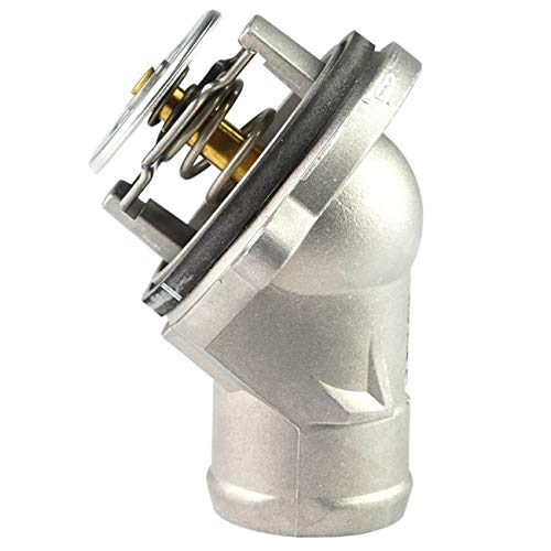 TOPAZ 1122000015 Engine Coolant Thermostat Aluminium Housing with Seal for Mercedes M112 M113