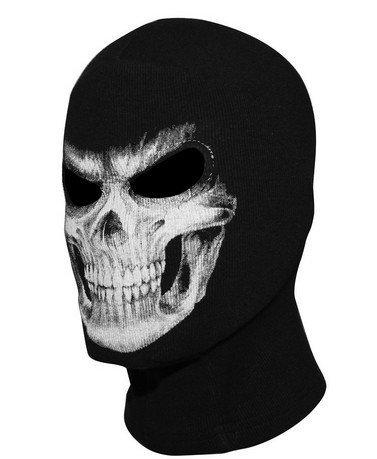 Ghost Ski Mask (LifeShopping Skull Face Tube Mask Neck Gaiter Dust Shield Seamless Bandana Balaclava)