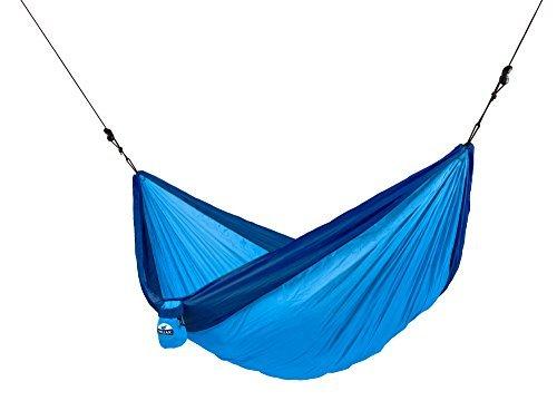 Chillax Parachute Double Travel Hammock Outdoor Beach/Garden- Blue by Chillax by Chillax