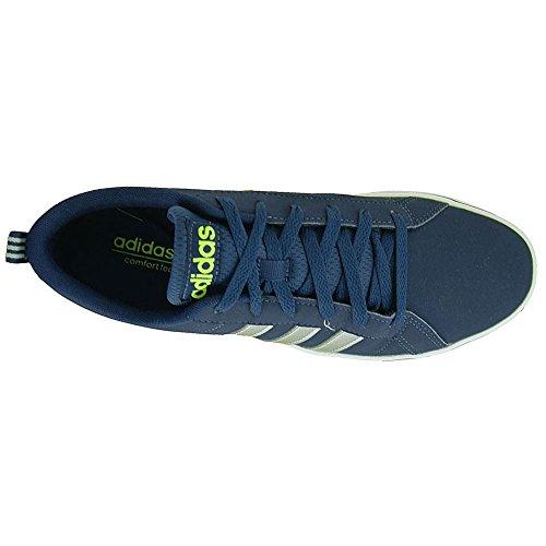 adidas Pace Vs, Entrenadores para Hombre, Azul (Collegiate Navy/Matte Silver/Solar Yellow), 47 1/3 EU