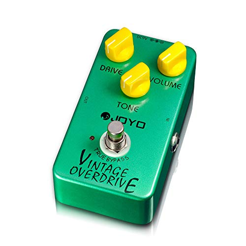 JOYO JF-01 Vintage Overdrive Pedal Guitar Effects Pedal Music Instrument Guitar -