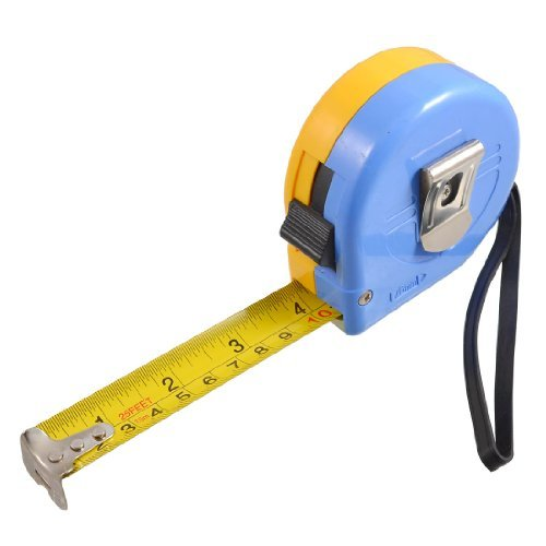 Price comparison product image Water & Wood 7.5M 25Ft Length Self Retractable Measuring Tool English Metric Ruler Tape
