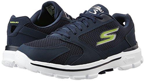skechers performance men's go walk 3 compete lace-up walking shoe