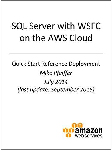 SQL Server with WSFC on AWS (AWS Quick Start)