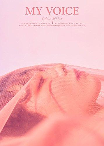 TAEYEON - [MY VOICE] 1st Album Deluxe Edition CD+PhotoBook+PhotoCard K-POP
