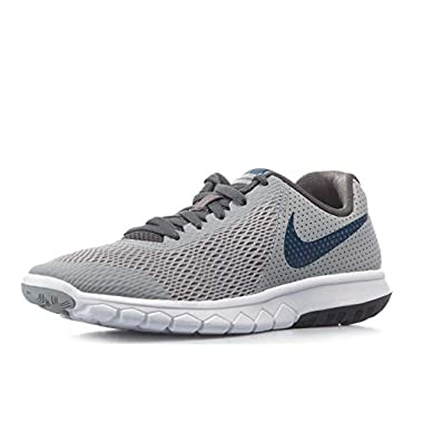 Nike Flex Experience 5 (GS) Boys Sneakers Wolf Grey Gym Blue- 1a4043d56