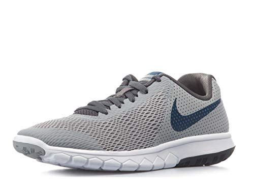 rience 5 (GS) Running Shoes-Wolf Grey/Gym Blue-6 ()