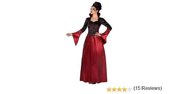 Atosa-19482 Disfraz Vampiresa, Color Rojo, XS/S (19482): Amazon.es ...