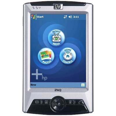 HP iPAQ Pocket PC rx3115 Mobile Media Companion - Handheld - Windows Mobile 2003 SE - 3.5'' color TFT ( 240 x 320 ) - Bluetooth, Wi-Fi by Hewlett Packard
