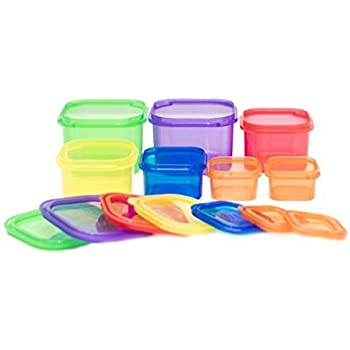 colored food containers for weight loss
