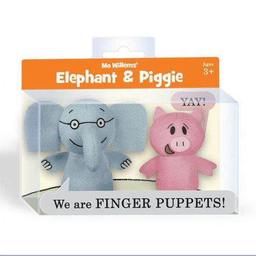 Elephant and Piggie Finger Puppets (Monkey Kit With Sound)