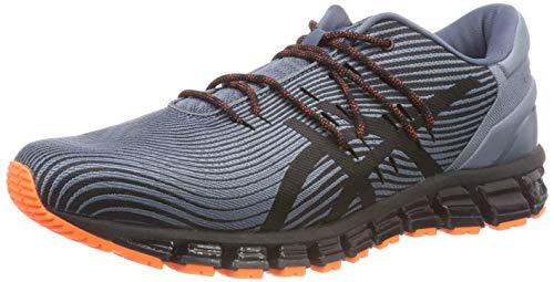 021 Gris Hombre quantum Running black De Zapatillas Para Gel Asics 4 ironclad 360 aw667q