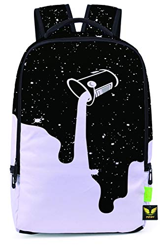 Mesh Luggage Strap - Pizoff Doulbe Mesh Padded Adjustable Shoulder Straps Cute Contrast Print Zipper Kids School Bookbags Rucksack Travel Laptop Backpacks Boys Girls Y1799-56