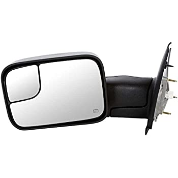 Prime Choice Auto Parts KAPCH1320228 Power Heated Towing Drivers Side Door Mirror
