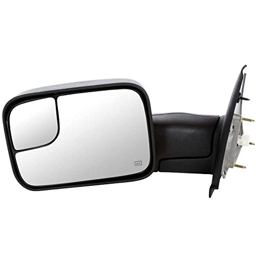 Dodge Ram Dealer Parts - Prime Choice Auto Parts KAPCH1320228 Power Heated Towing Drivers Side Door Mirror
