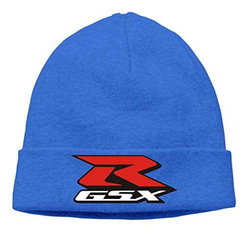 r Motorcycle Speed Racinger Men Women Knitted Winter Autumn Cap Hip-hop Slouch Hats Skullies chapeu Blue ()
