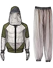 BESPORTBLE Full Body Mosquito Bug Wear Suit Cloth Protective Coverall for Hiking Camping Outdoor Activities - Size M