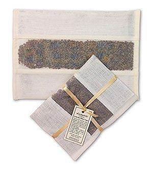 elizabethW 63239 Lavender Pillow Insert in Ivory Linen by elizabethW
