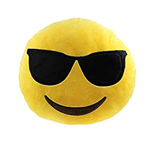 Desconocido Emoji - Almohada Grande, Gafas de Sol ...