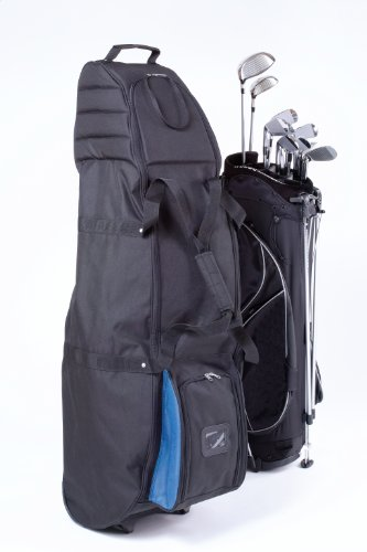 JEF WORLD OF GOLF Premium Wheeled Golf Bag Travel ()