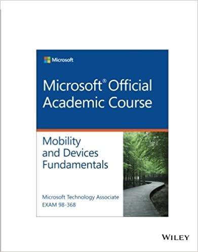 Exam 98 368 mta mobility and device fundamentals microsoft official exam 98 368 mta mobility and device fundamentals 1st edition fandeluxe Image collections