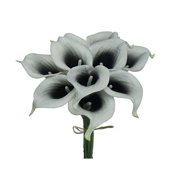 Lily-Garden-Artificial-Picasso-Calla-Lily-Flower-Bouquets