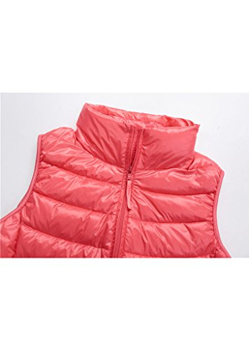 Topgraph Jacket Coat Puffer in Lightweight Blue Down Pink Packable Womens Vest rYRTrq