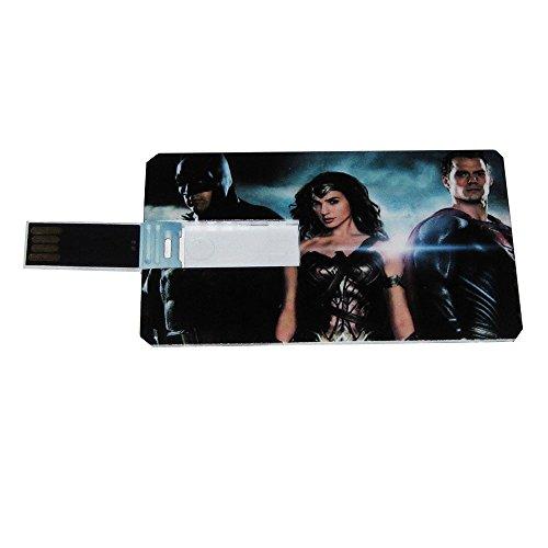Ubuntu Fedora Linux Batman Wonder Woman Bootable USB Flash Drive