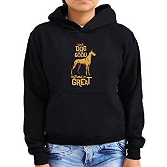 Great Dane your dog may be good but mine is great Women Hoodie