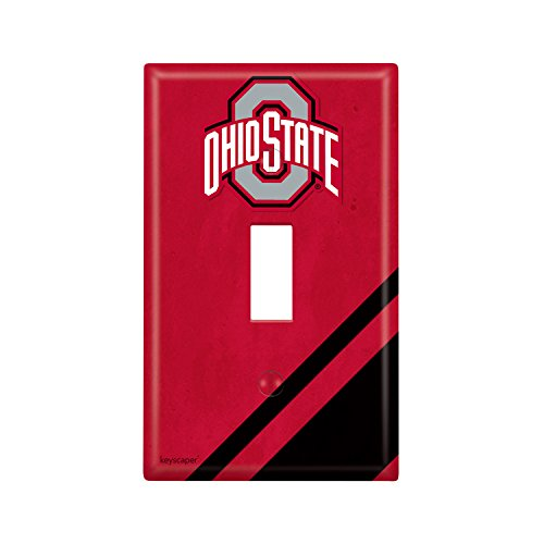 Ohio State University Single Toggle Light Switch Cover NCAA