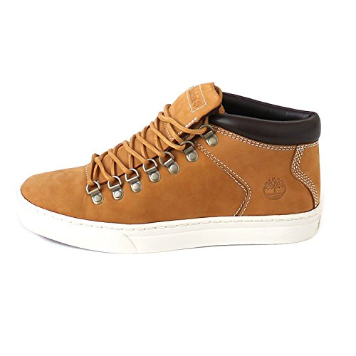 Alpine 2 Shoe (Timberland Mens Adv 2.0 Alpine Chukka - Wheat Nubuck (Beige) Mens Trainers 8.5 US)