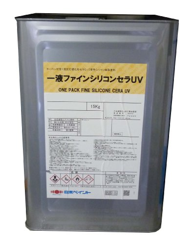日本ペイント 1液ファインシリコンセラUV エコロエロー 15kg B002QUCI5M 15kg|エコロエロー