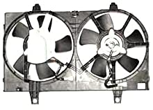 TYC 620360 Replacement Radiator/Condenser Cooling Fan Assembly For Select Nissan Vehicles