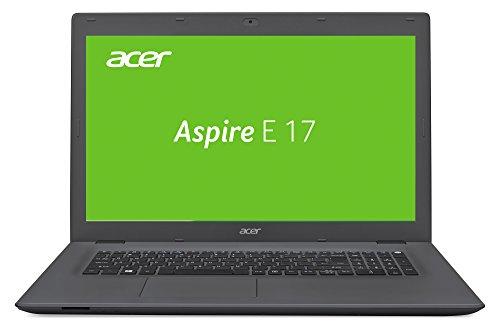 Acer Aspire E 17 (E5-772G-5123) 43,9 cm (17,3 Zoll Full HD) Notebook (Intel Core i5-4200U, 8GB RAM, 1000GB HDD, Nvidia GeForce 940M, DVD, Win 10 Home) schwarz