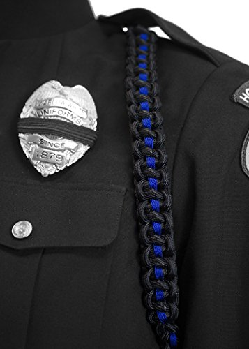 - Mourning Shoulder Cords, Police & Fire (Black&Blue)