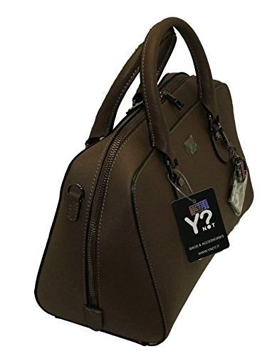 BORSA BAULETTO IN PELLE YNOT G718 HANDBAG LEATHER TAUPE SAFFIANO