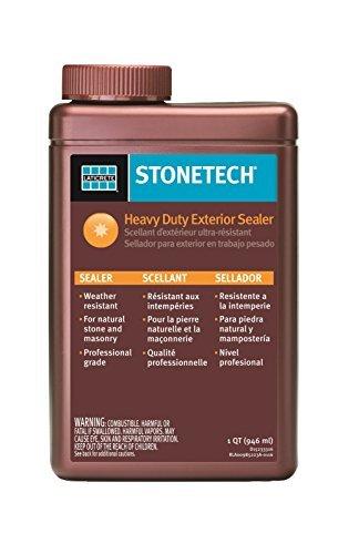 StoneTech Heavy Duty Exterior Sealer for Stone & Masonry, 1-Quart (.946L) by StoneTech