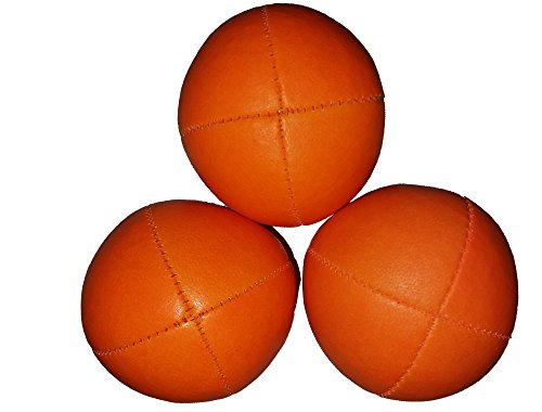 Juggle Dream UV Smoothie Juggling Balls (3 Orange)