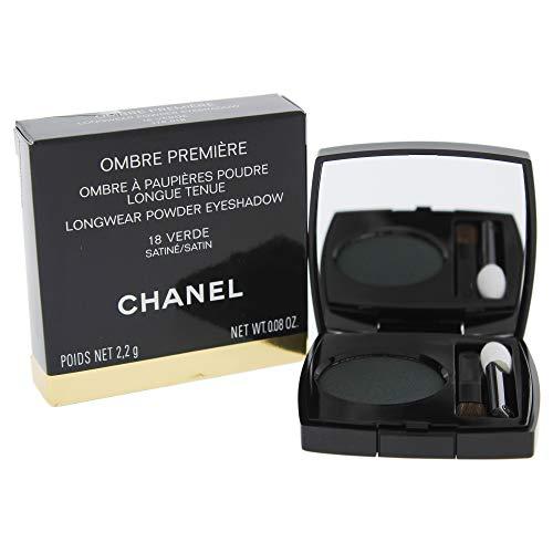 Chanel Ombre Premiere Longwear Powder Eyeshadow 18 Verde for Women, 0.08 -