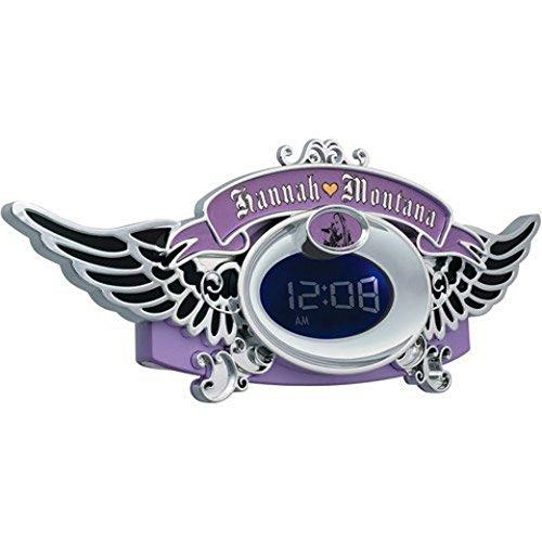 Alarm Clock Radio Disney HM380ACR Hannah Montana (Hannah Montana Alarm Clock)