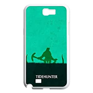 Samsung Galaxy N2 7100 Cell Phone Case White DOTA 2 Tidehunter JSK670823