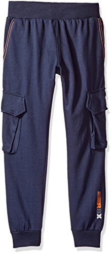 Price comparison product image RBX Big Boys' Active Cargo Pant, Navy, M (10/12)