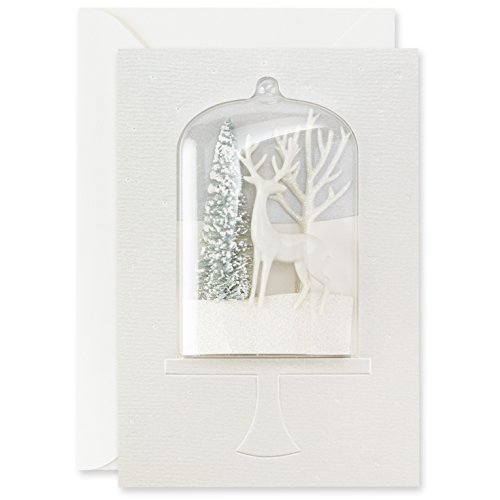 Hallmark Signature Collection Holiday Card: Winter Wonderland Snowglobe