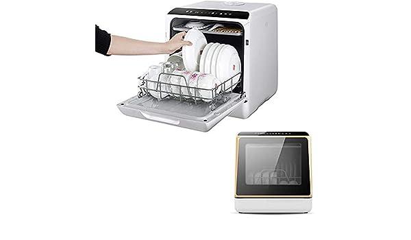 Agradecido por todo Mini Lavaplatos Portátil con Lavavajillas De Escritorio Completamente Automático único De Doble Rejilla para El Hogar: Amazon.es: Hogar