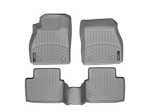 WeatherTech 46457-1-2 FloorLiner, Front//Rear, Gray