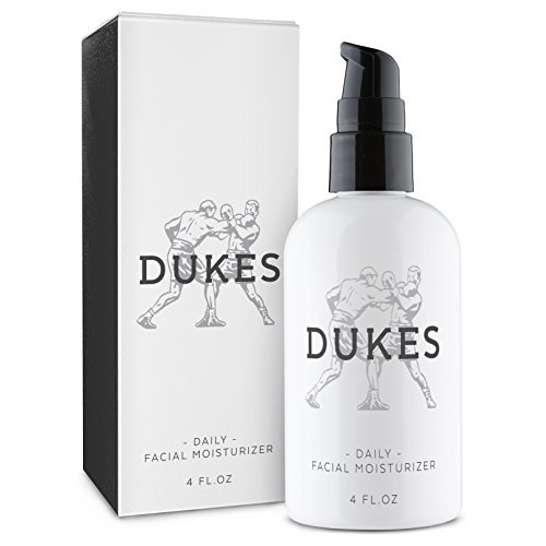 Price comparison product image Dukes Face Moisturizer for Men 4oz - All natural & organic anti wrinkle Anti-Aging Daily Facial lotion - For Oily,  Dry and aging skin types