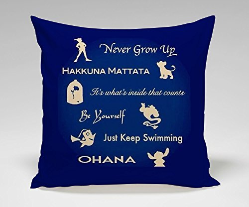 disney-peterpan-hakuna-matata-beauty-and-the-beast-alladin-finding-nemo-lilo-and-stitch-quote-pillow