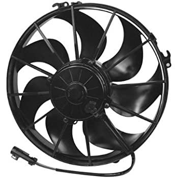 Amazon Com Spal 30103202 12 Curved Blade Puller Fan Automotive